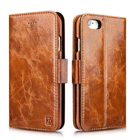 buy popular 0f161 77601 iCarer iPhone 6 Plus/ 6S Plus Oil Wax Leather Detachable 2 in 1 Wallet  Folio Case