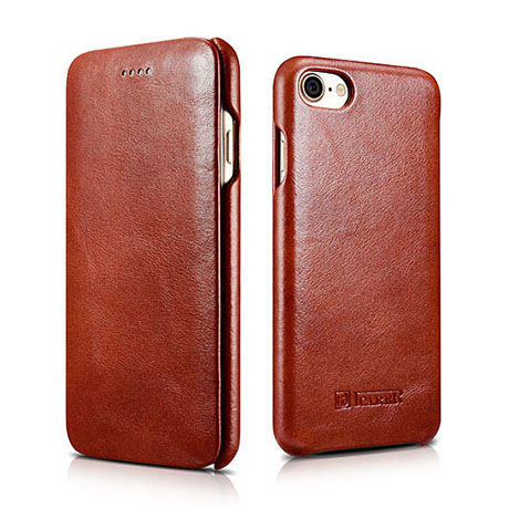 ICarer iPhone 8 Leather Case