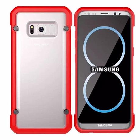 samsung galaxy s8 plus case red