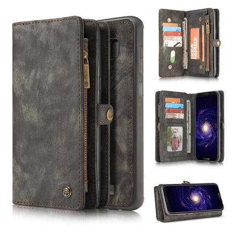 separation shoes 39474 77a8d CaseMe Samsung Galaxy S8 Plus Wallet Case Black