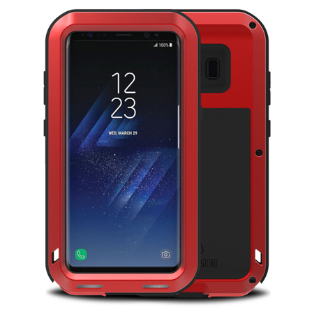samsung galaxy s8 phone case red