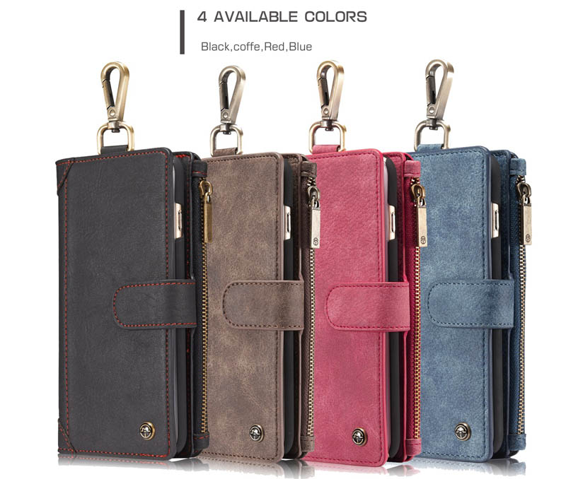 CaseMe 009 iPhone 6S Plus Zipper Wallet Case