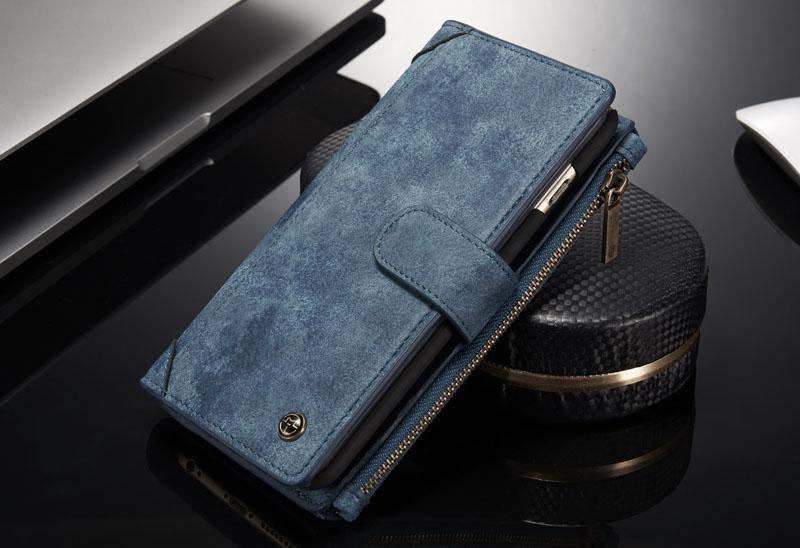 CaseMe 009 iPhone 6S/6 Zipper Wallet Case