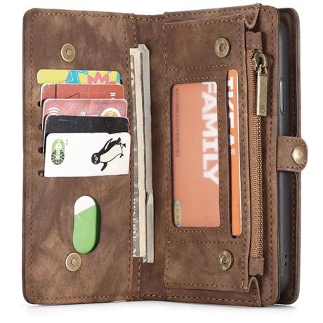 purchase cheap c3517 b2d90 CaseMe iPhone X Wallet Case Brown