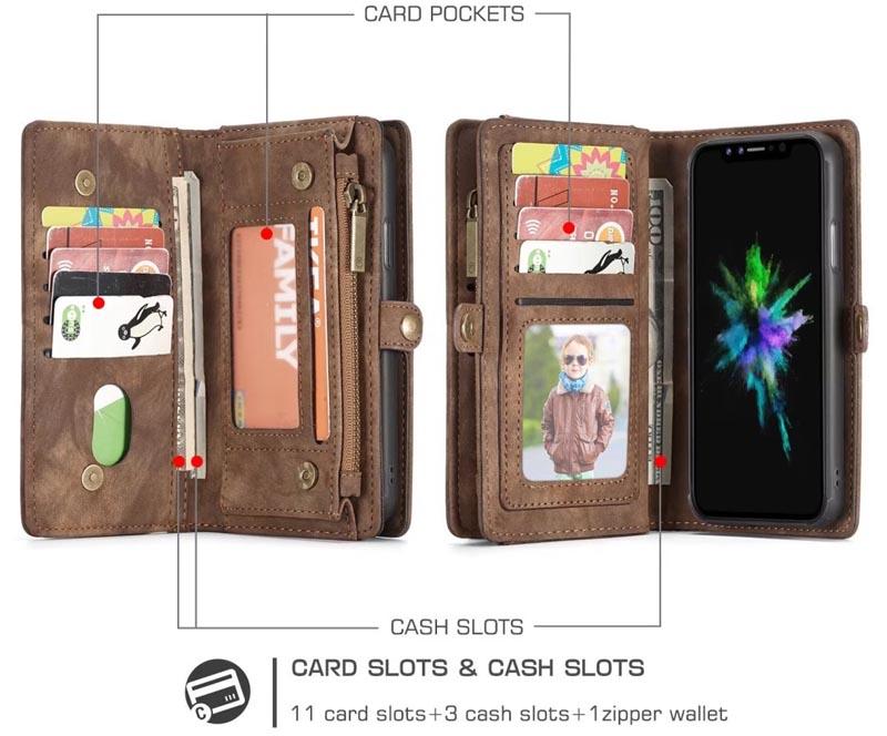 Caseme iPhone X Wallet Case