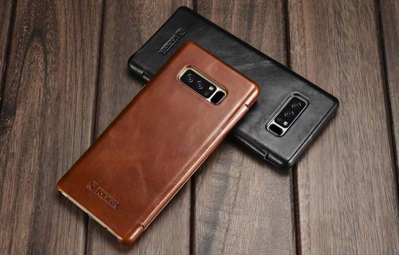iCarer Samsung Galaxy Note 8 Genuine Leather Case