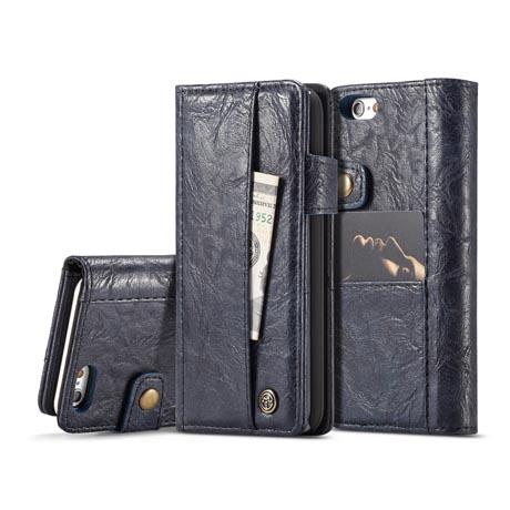 wholesale dealer 933be 020f5 CaseMe iPhone 6S/6 Retro Leather Wallet Case Blue