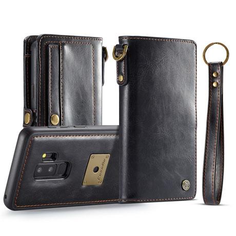 CaseMe Qin Samsung Galaxy S9 Plus Leather Wallet Case-1