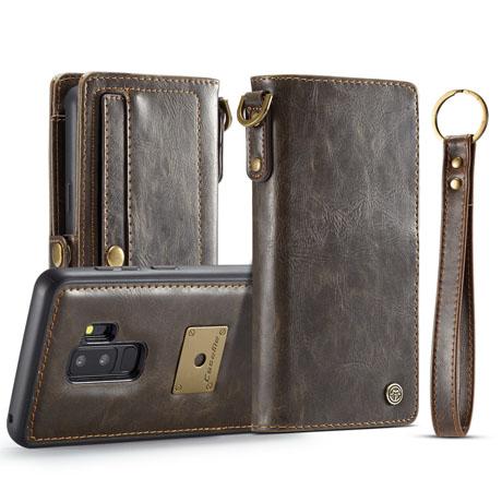 CaseMe Qin Samsung Galaxy S9 Plus Leather Wallet Case-2