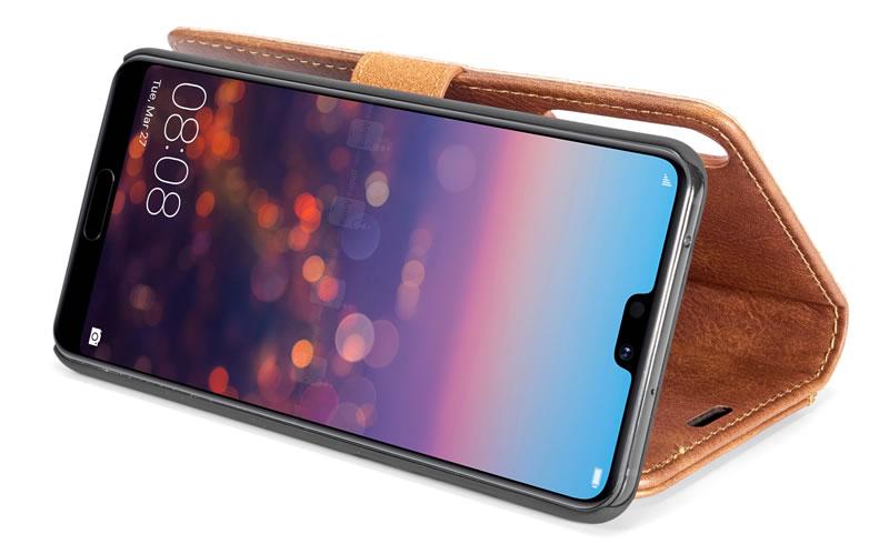 DG.MING Huawei P20 Pro Magnetic Detachable Wallet Case