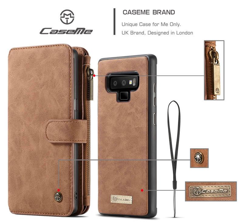 CaseMe Samsung Galaxy Note 9 wallet case