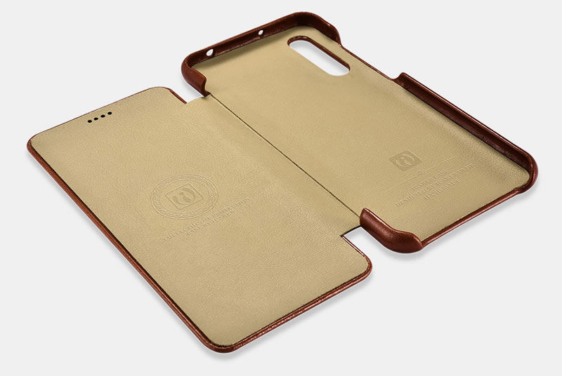 iCarer Huawei P20 Pro Genuine Leather Case