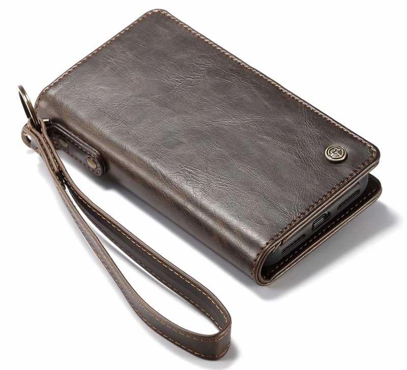 CaseMe iPhone XS Max Detachable Leather Wallet Case