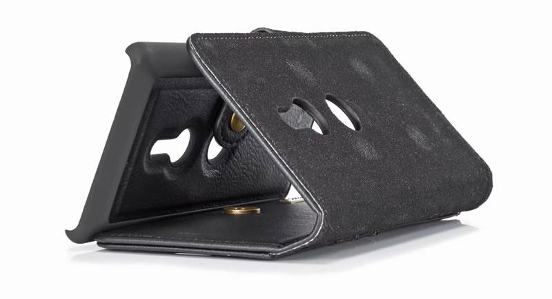 DG.MING Sony Xperia XZ3 wallet case