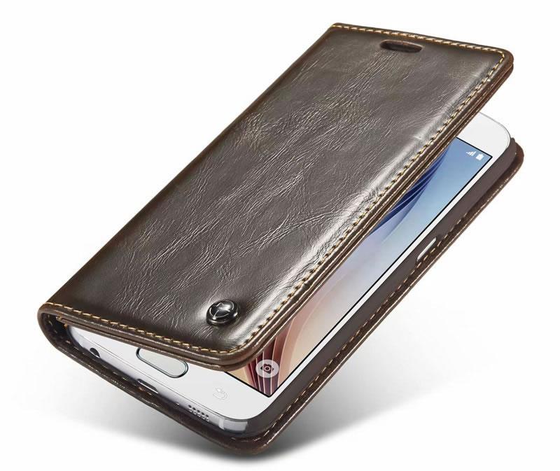 CaseMe Samsung Galaxy S6 Edge wallet case