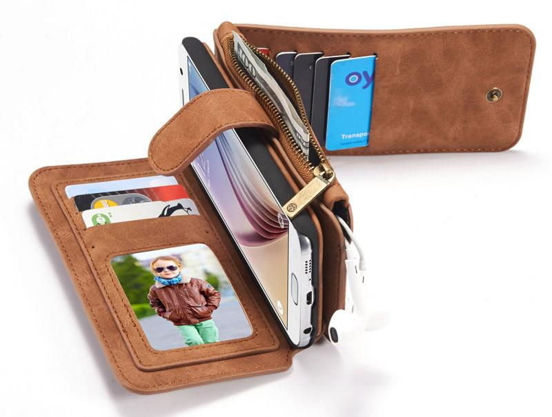 CaseMe Samsung Galaxy S6 wallet case