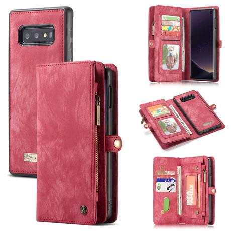 CaseMe 008 Samsung Galaxy S10 Lite wallet case red