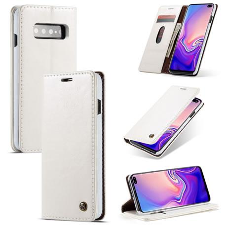 caseme 003 Samsung Galaxy S10 Plus wallet case white