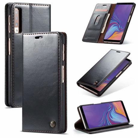 caseme 003 samsung galaxy a7 2018 wallet case black