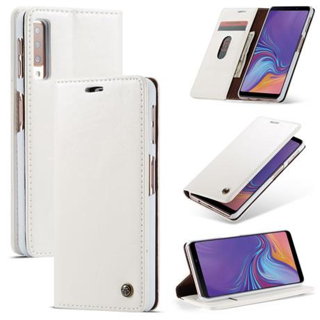 caseme 003 samsung galaxy a7 2018 wallet case white