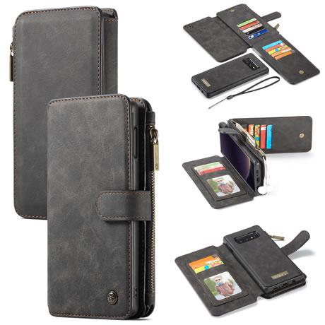 caseme 007 samsung galaxy s10 lite wallet case black