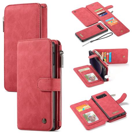 caseme 007 samsung galaxy s10 lite wallet case red