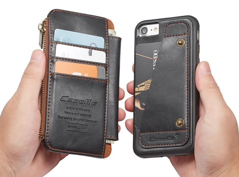 CaseMe iPhone 8 wallet case