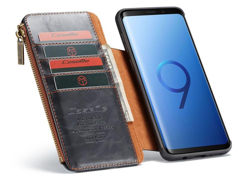 CaseMe Samsung Galaxy S9 Plus wallet case