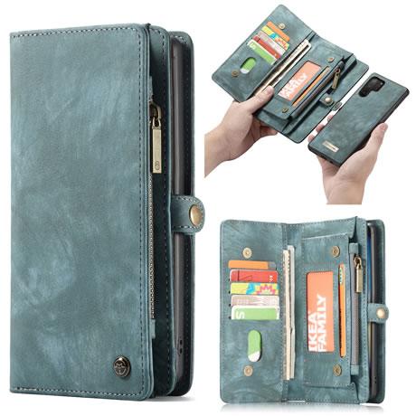 CaseMe Samsung Galaxy Note 10 Pro Wallet Case Blue