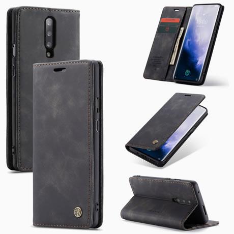 Caseme 013 OnePlus 7 Pro wallet case black