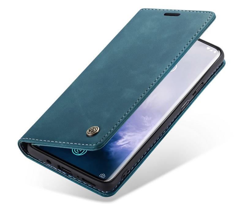 CaseMe OnePlus 7 Pro Leather Wallet Case
