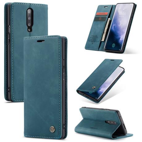Caseme 013 OnePlus 7 Pro wallet case blue