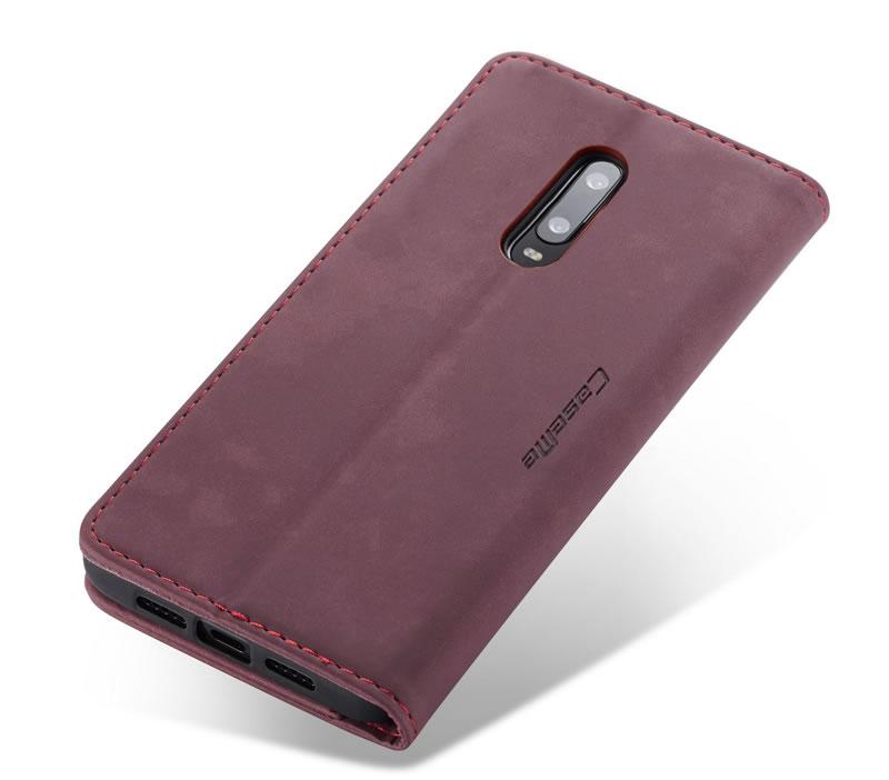 CaseMe OnePlus 7 Leather Wallet Case