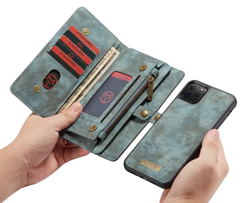 CaseMe iPhone 11 Pro Zipper Wallet Case