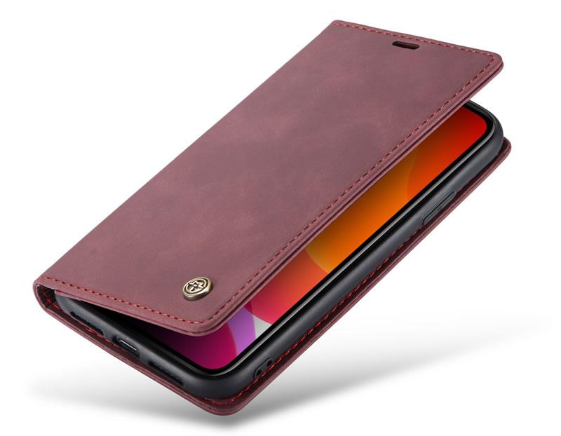 CaseMe iPhone 11 Leather Wallet Case