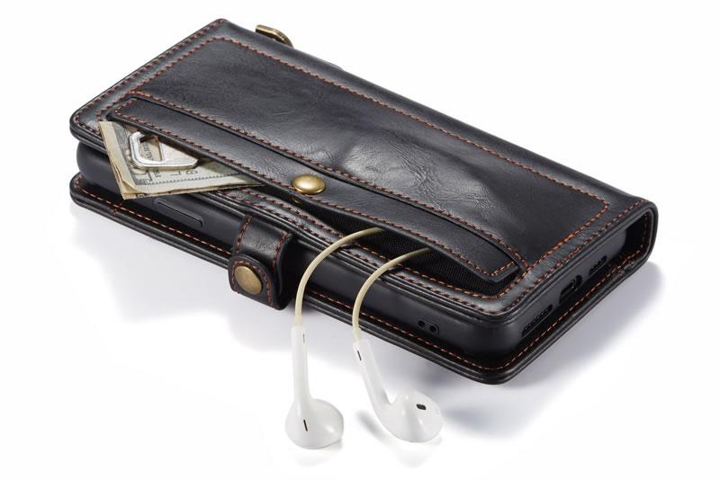 CaseMe iPhone 11 Pro Max Leather Wallet Case