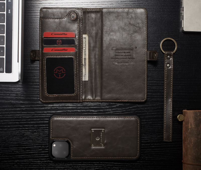 CaseMe iPhone 11 Pro Leather Wallet Case