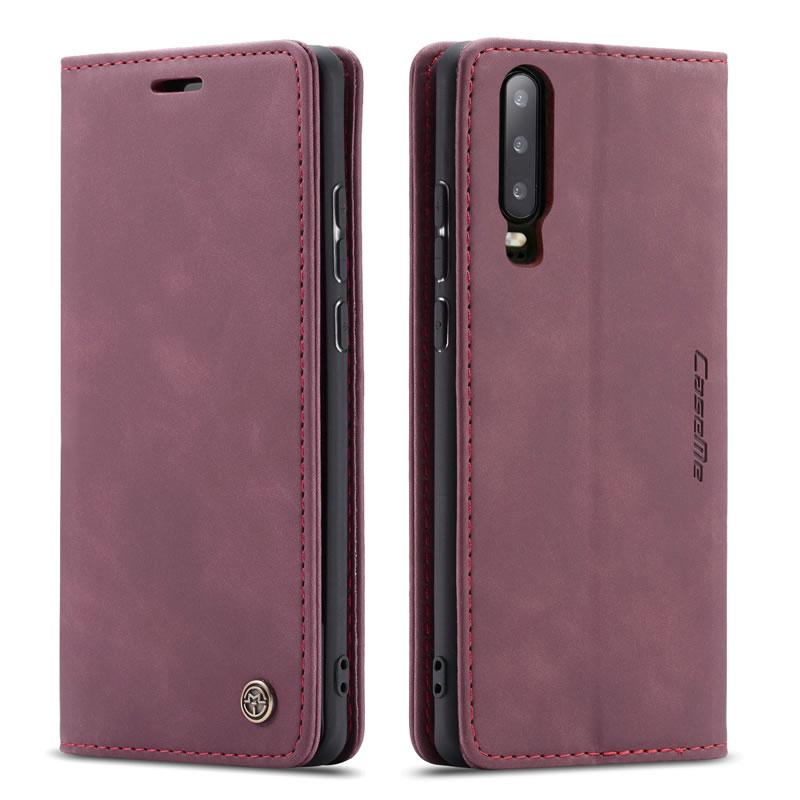 CaseMe Huawei P30 Leather Wallet Case