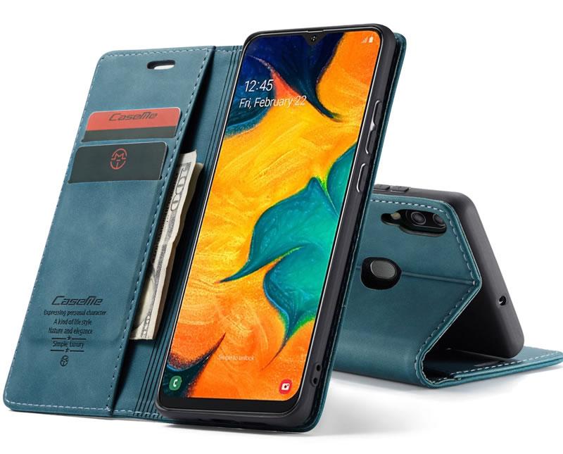 CaseMe Samsung Galaxy A40 Leather Wallet Case