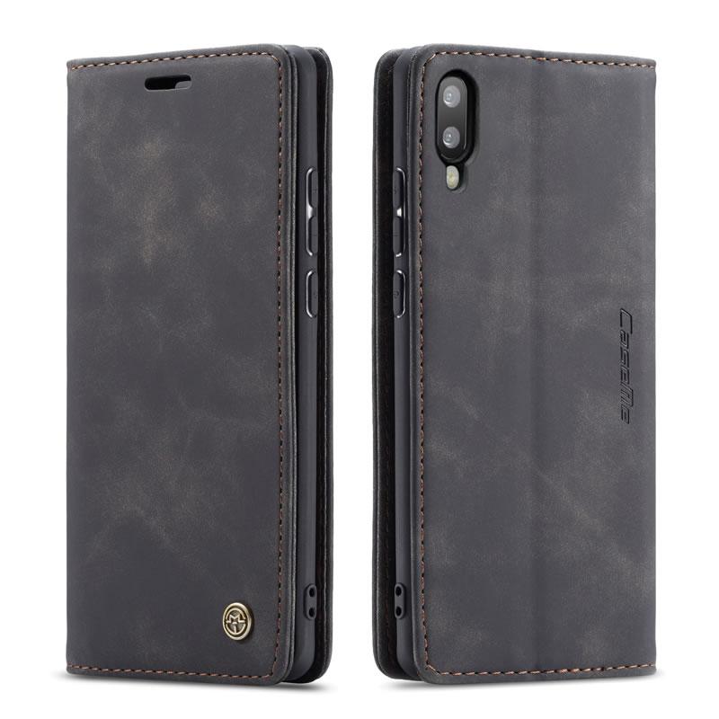 CaseMe Samsung Galaxy M10 Leather Wallet Case