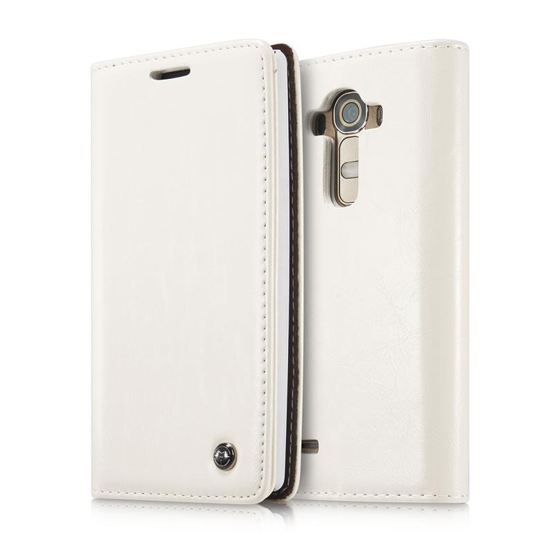 CaseMe LG G4 Leather Wallet Case