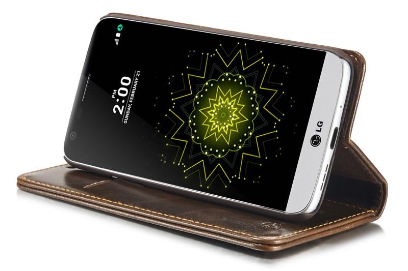 CaseMe LG G5 Leather Wallet Case