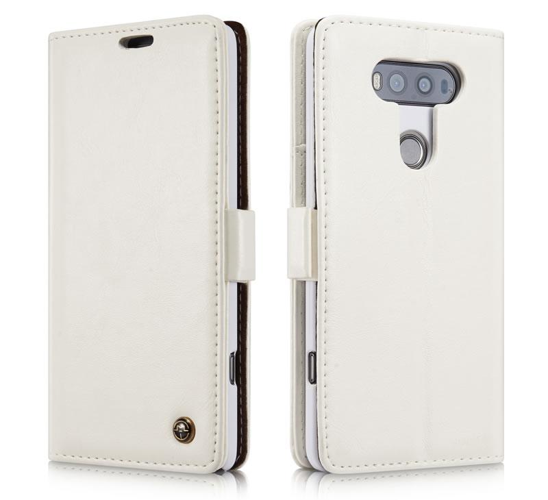 CaseMe LG V20 Leather Wallet Case