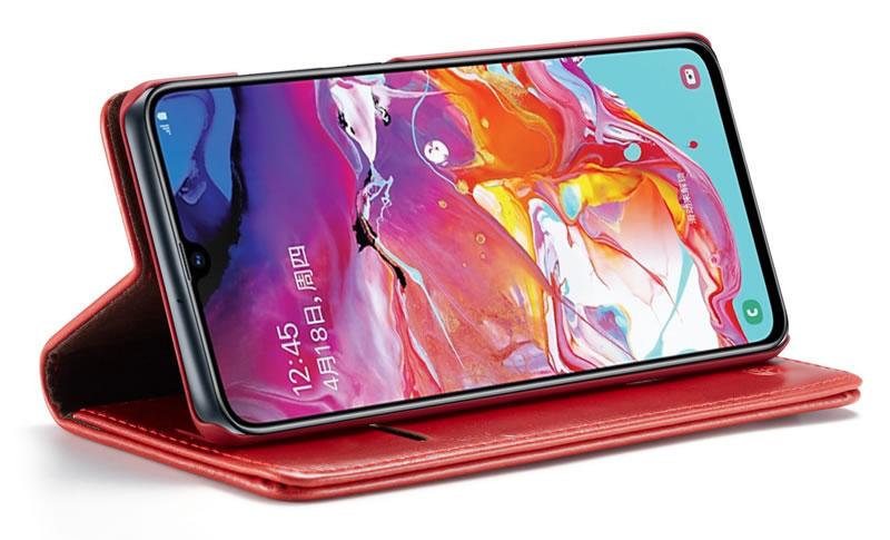 CaseMe Samsung Galaxy A70 Leather Wallet Case