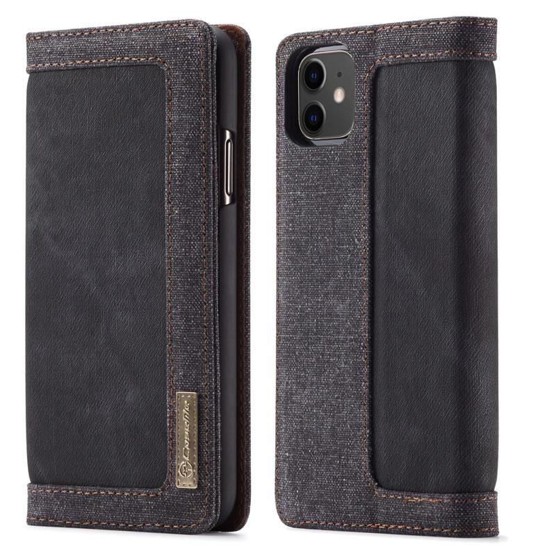 CaseMe iPhone 11 Canvas Wallet Case