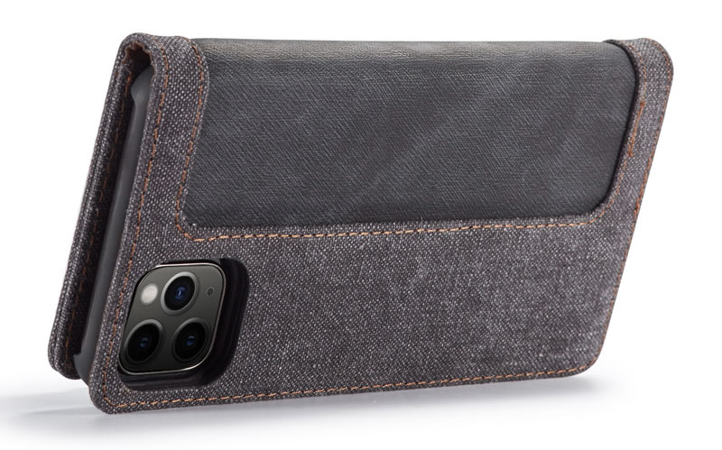 CaseMe iPhone 11 Pro Canvas Wallet Case