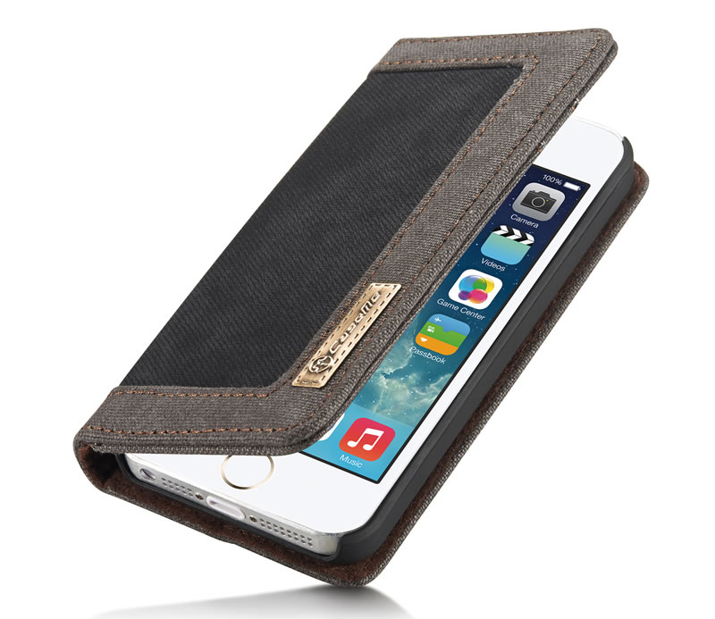 CaseMe iPhone 5S Leather Wallet Case