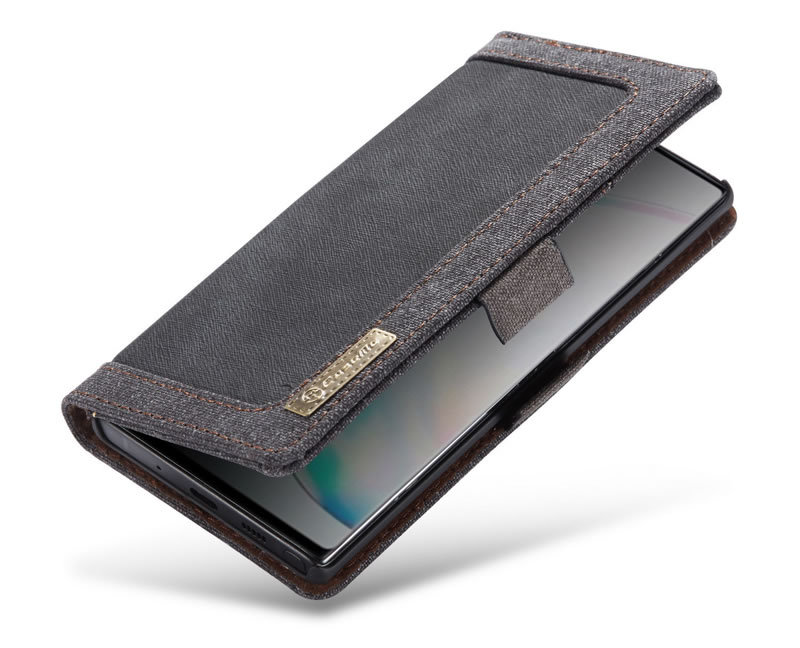 CaseMe Samsung Galaxy Note 10 Canvas Wallet Case