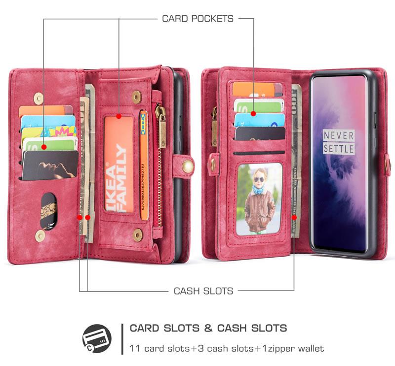 CaseMe OnePlus 7 Pro Wallet Case
