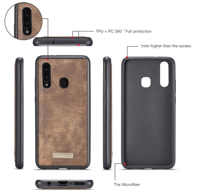 CaseMe Samsung Galaxy A30 Wallet Case